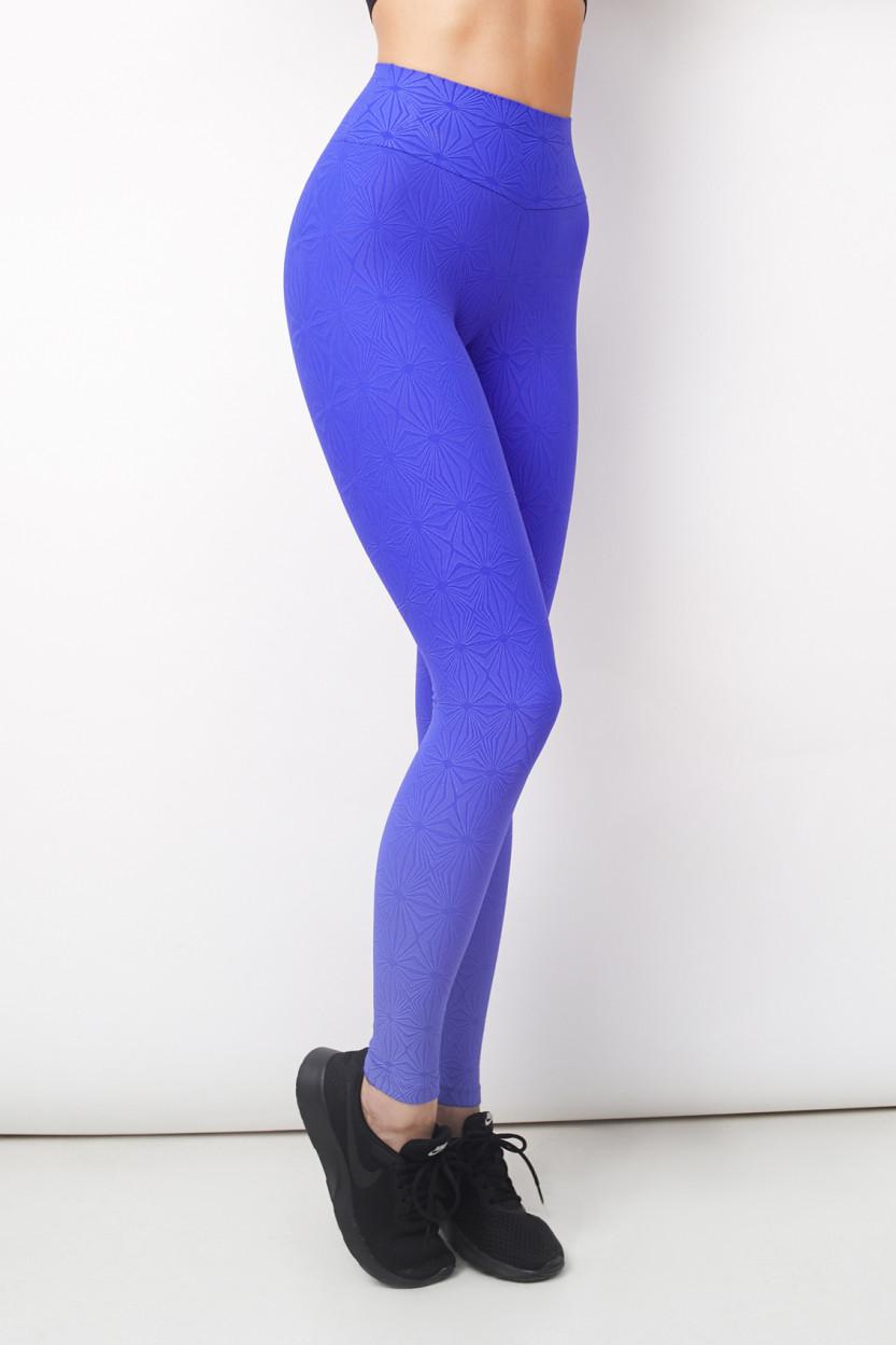 Alto Relevo Azul Legging
