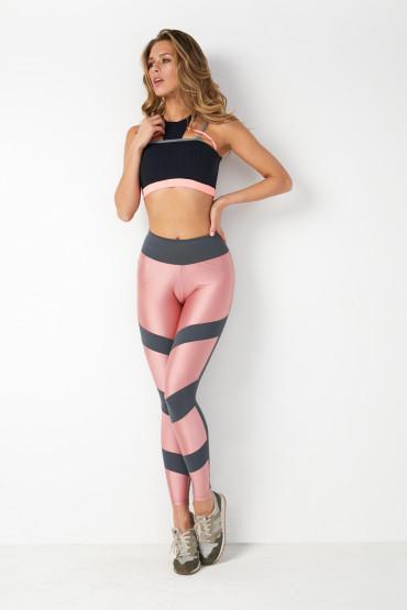 Rosa Grafite Legging